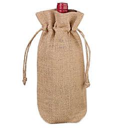Lillian Rose™ Burlap Wine Bag