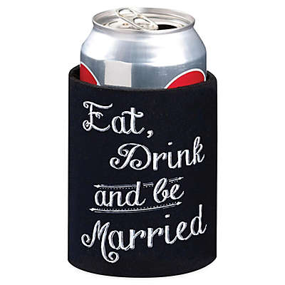 Lillian Rose™ Eat Drink and Be Married Cup Cozy