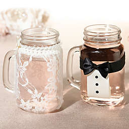 Lillian Rose™ Bride and Groom Drink Glass Covers