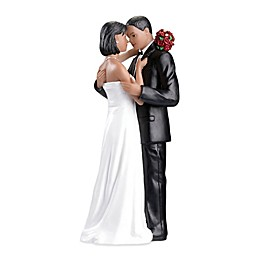 Lillian Rose™ African-American Tender Moment Figurine Cake Topper