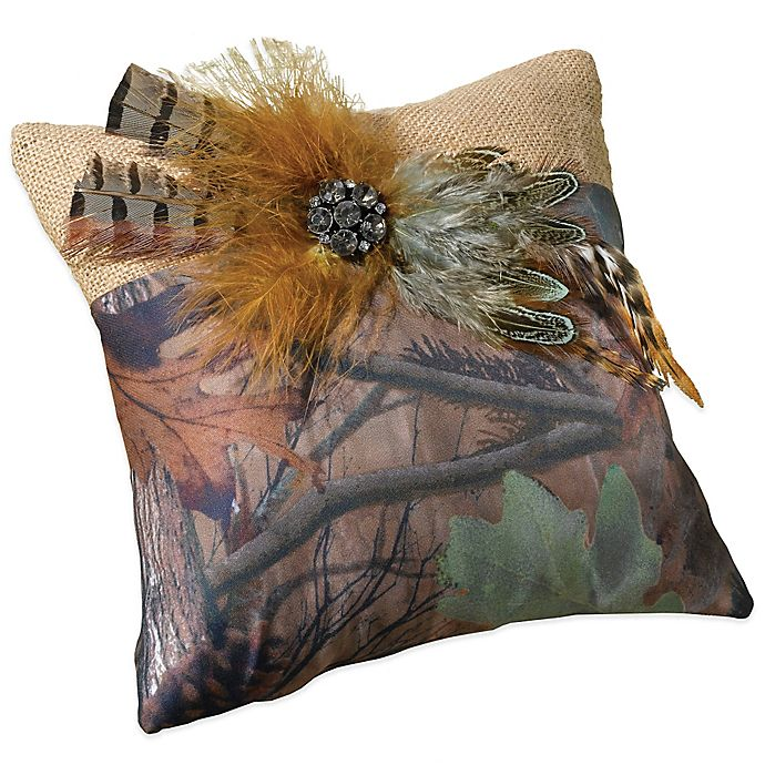 Alternate image 1 for Lillian Rose™ Camo Ring Pillow