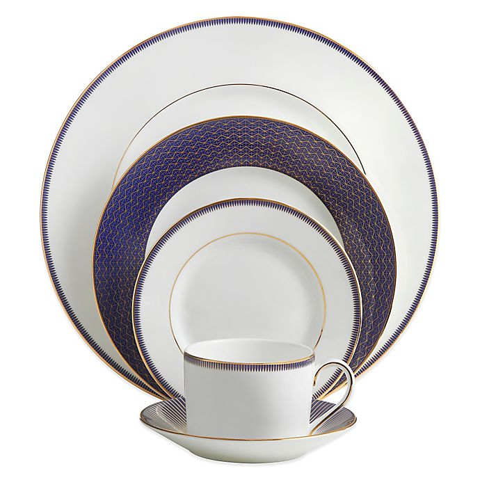 Alternate image 1 for Waterford® Lismore Diamond Lapis Dinnerware Collection
