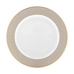 Waterford® Lismore Diamond Gold Rim Soup Bowl
