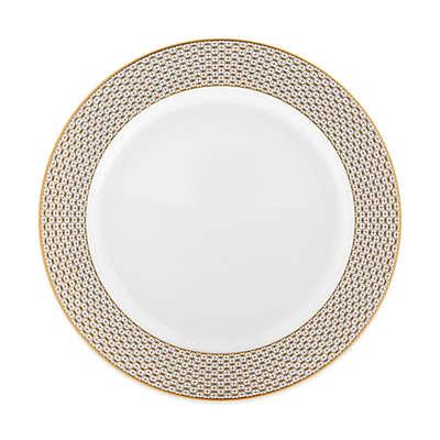 Waterford® Lismore Diamond Gold Rim Soup Bowl