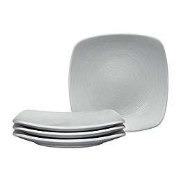 Noritake® Grey on Grey Swirl Square Appetizer Plates (Set of 4)