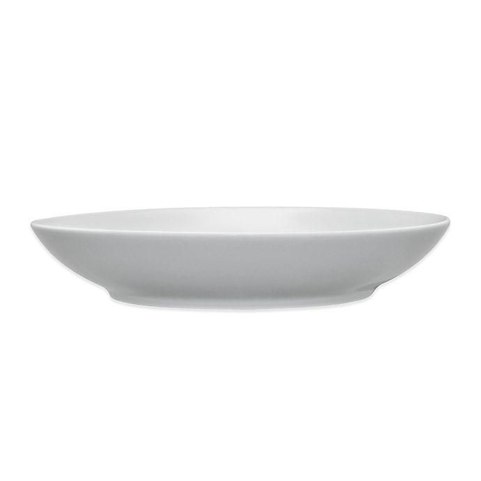 Alternate image 1 for Noritake® Grey on Grey Swirl Pasta Bowl