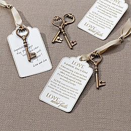 Lillian Rose™ Christian Elegance Bronze Key Tags (Set of 24)