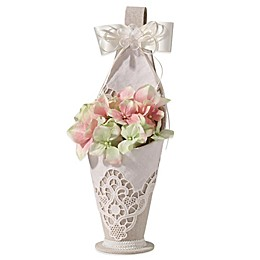 Lillian Rose™ Country Lace Flower Basket