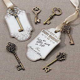 Lillian Rose™ Bronze Key Tags (Set of 24)