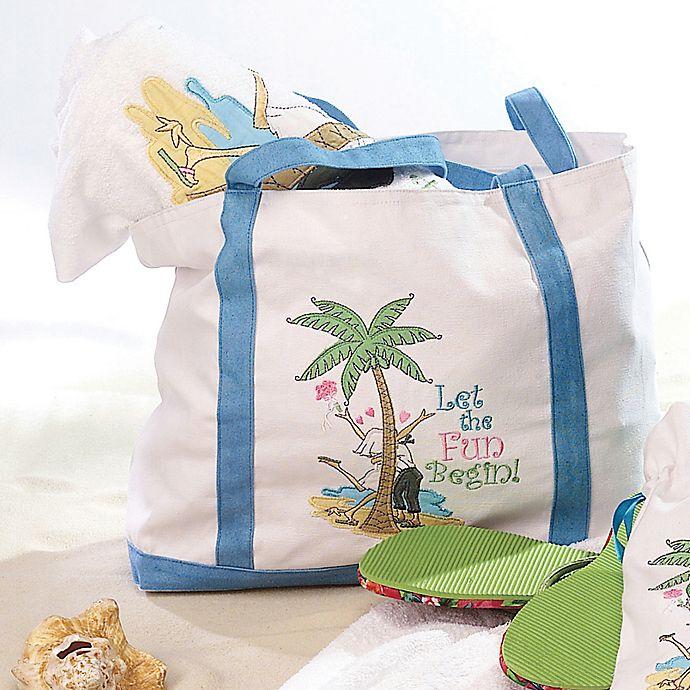 Lillian Rose Flip Flop Love Beach Bag