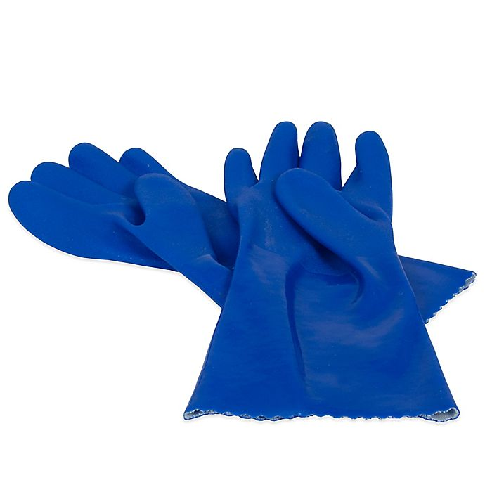 Alternate image 1 for Casabella® Latex-Free Heavy Duty Rubber Gloves