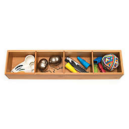 Lipper International 4-Part Bamboo Drawer