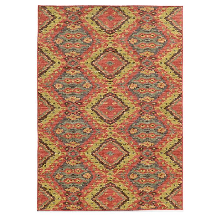 Alternate image 1 for Tommy Bahama® Cabana Collection Tribal 5-Foot 3-Inch x 7-Foot 6-Inch Rug
