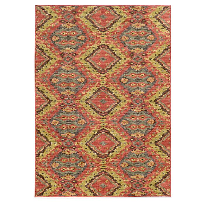 Alternate image 1 for Tommy Bahama® Cabana Collection Tribal 6-Foot 7-Inch x 9-Foot 6-Inch Rug