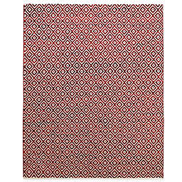Feizy Diamond 5-Foot x 8-Foot Rug in Red