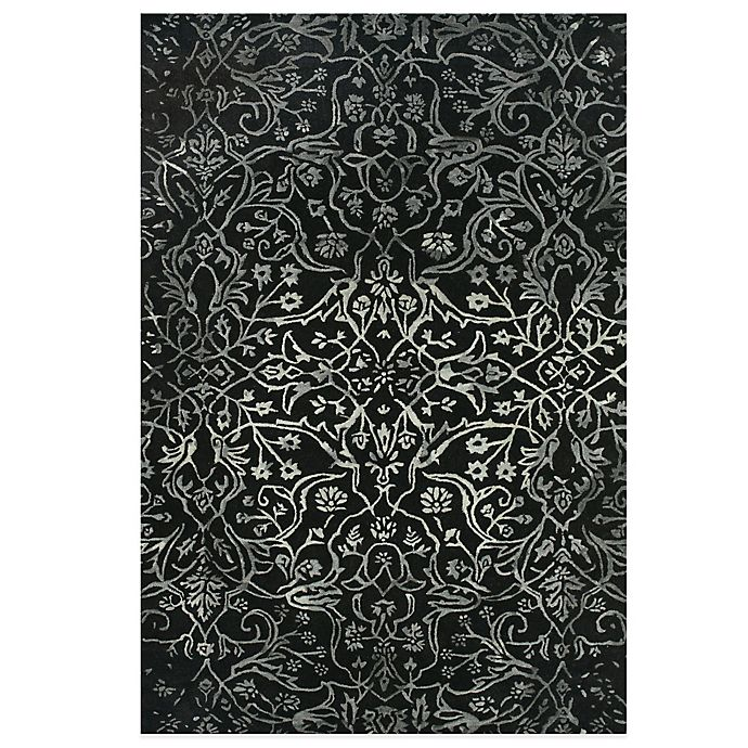Alternate image 1 for Feizy Beloha 3-Foot 6-Inch x 5-Foot 6-Inch Rug in Black/White