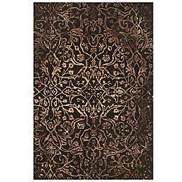 Feizy Beloha 5-Foot x 8-Foot Rug in Brown/Light Brown