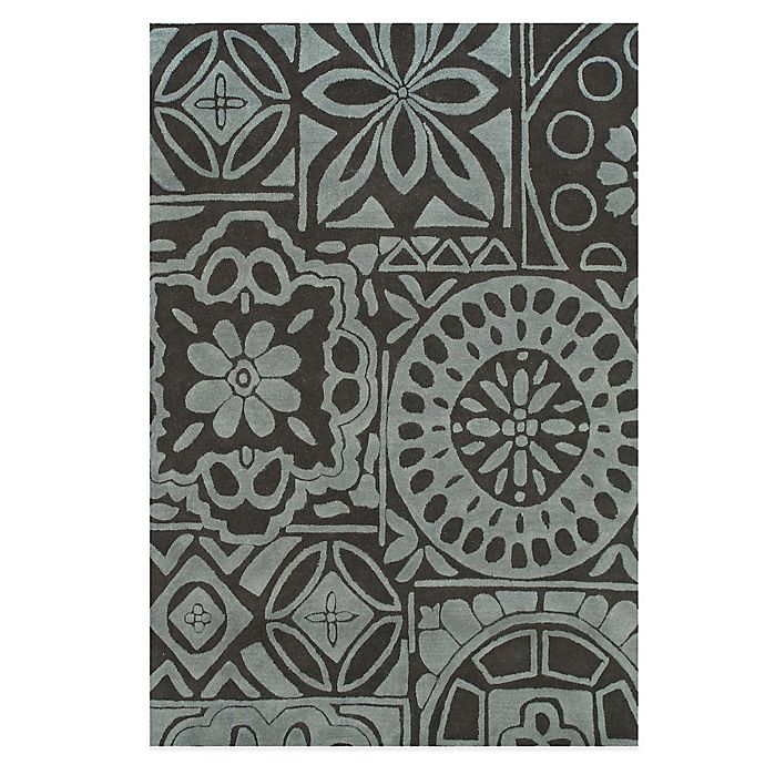 Alternate image 1 for Feizy Floral Circle Rug