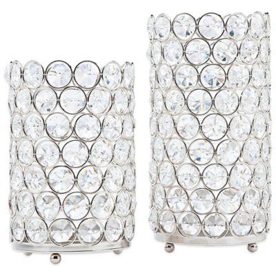 Candle Holders Votive Glass Crystal Tea Light Holders Bed Bath Beyond