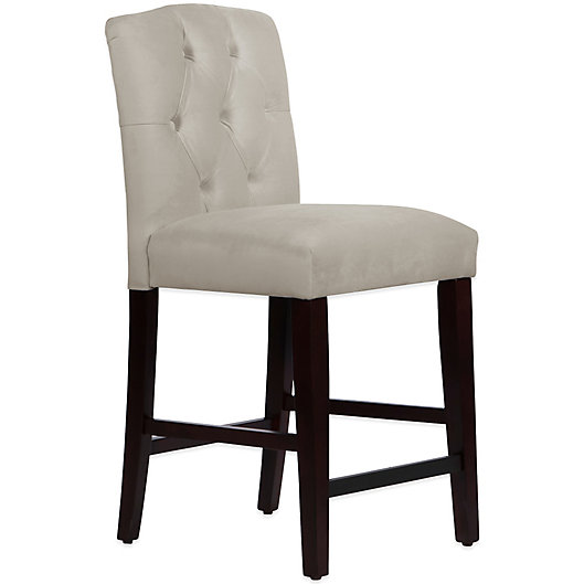 Alternate image 1 for Skyline Furniture Denise Tufted Arched Counter Stools and Bar Stools