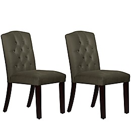 Skyline Furniture Denise Tufted Arched Dining Chairs (Set of 2)