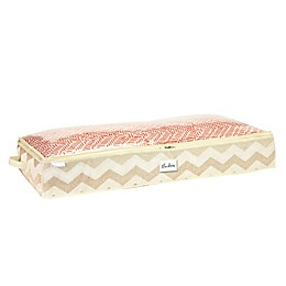 ClosetCandie Textured Chevron Under-the-Bed Storage Bag