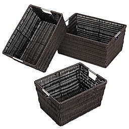 Rattique Storage Baskets (Set of 3)