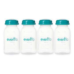 Evenflo® Feeding 4-Count 5 fl. oz. Milk Storage Bottles