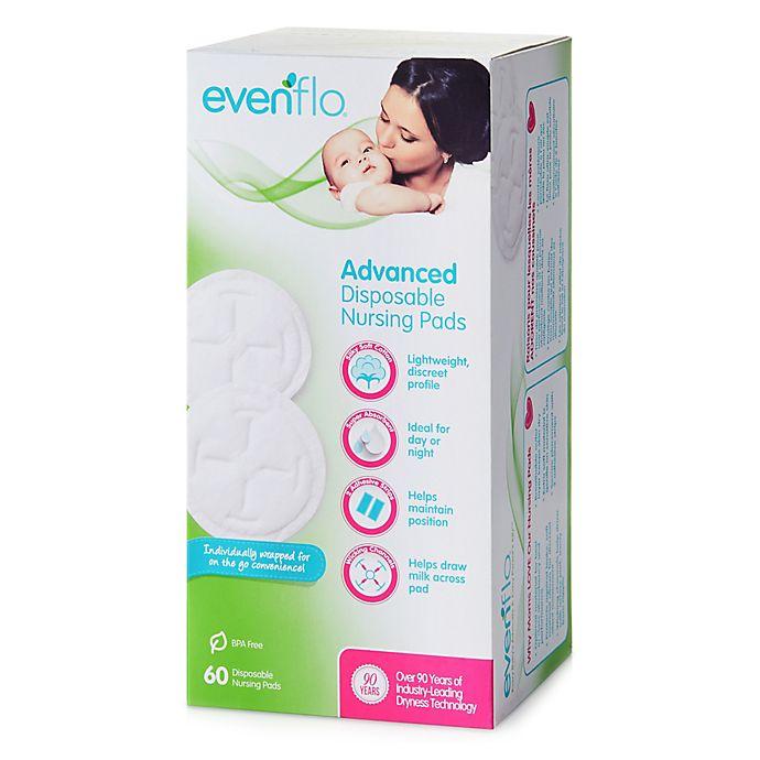 Alternate image 1 for Evenflo® Feeding Advanced 60-Count Disposable Nursing Pads