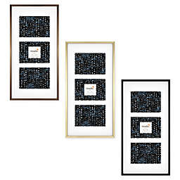Studio 3B™ 3-Opening 5-Inch x 7-Inch Matted Frame
