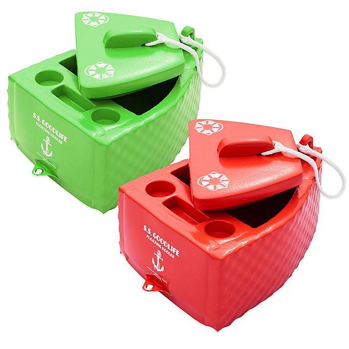 Alternate image 1 for Super Soft® S.S. Goodlife Floating Cooler