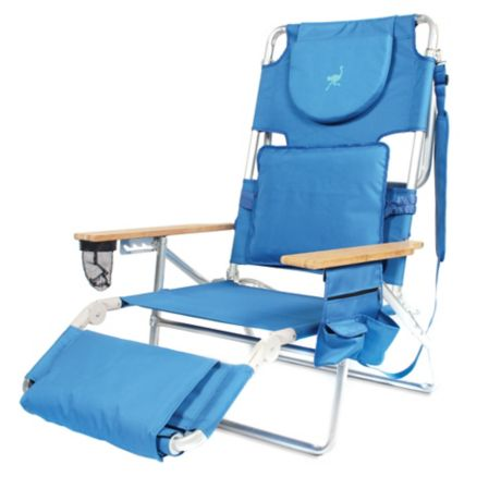 Ostrich 3 In 1 Deluxe Beach Chair Bed Bath Amp Beyond