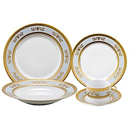 Philippe Deshoulieres Orsay Dinnerware Collection in Powder Blue