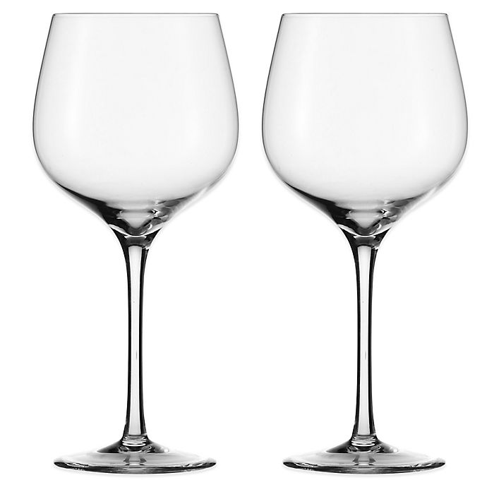 Alternate image 1 for Eisch Superior Sensis Plus Burgundy Glasses (Set of 2)