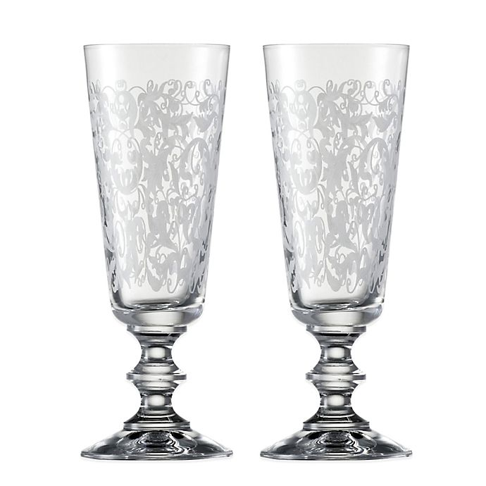 Alternate image 1 for Vincennes Champagne Glasses (Set of 2)