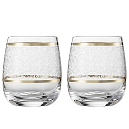 Carezza Tumbler Slim Short Glasses (Set of 2)