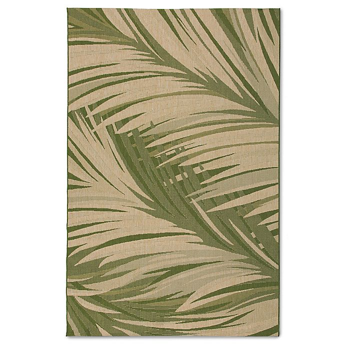 Alternate image 1 for Miami Palm Indoor/Outdoor Rug