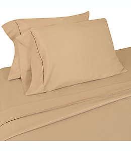 Home Dynamix Micro Lush Set de sábanas king de microfibra en café pardo