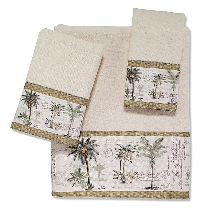 Alternate image 1 for Avanti Colony Palm Bath Towel