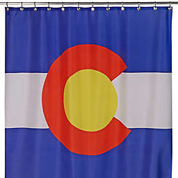 Izola Colorado State Flag Shower Curtain