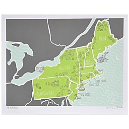 American Atlas, The Northeast Wall Art