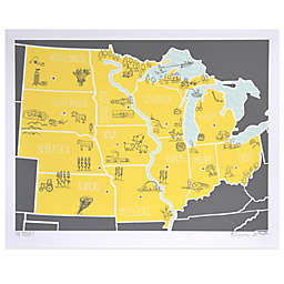 American Atlas, The Midwest Wall Art