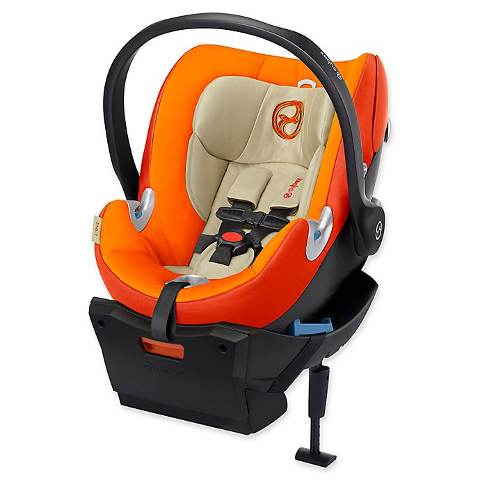 Alternate image 1 for Cybex Platinum Aton Q Infant Car Seat in Autumn Gold