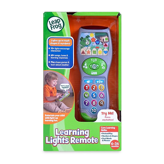 Alternate image 1 for LeapFrog® Scout's Learning Lights Remote