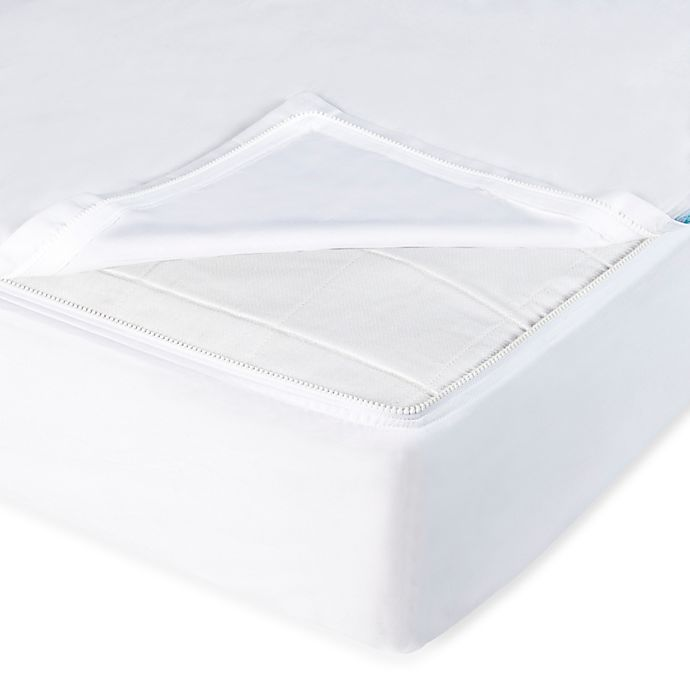 Alternate image 1 for QuickZip® Crib Sheet System in White