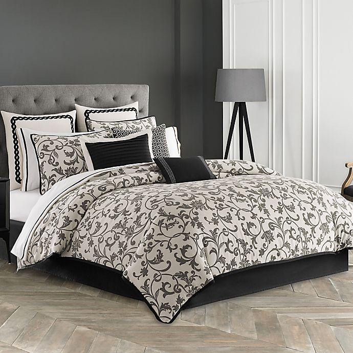 Alternate image 1 for Wedgwood® Acanthus Comforter Set