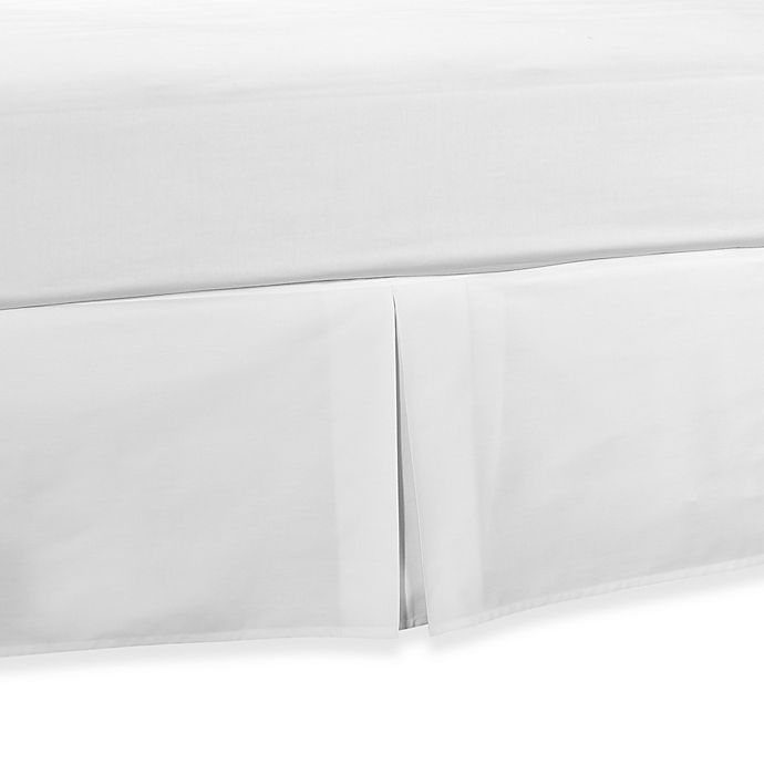 Alternate image 1 for Smoothweave™ Tailored Daybed Bed Skirt in White