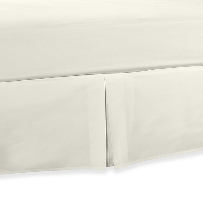 Alternate image 1 for Smoothweave™ Tailored Daybed Bed Skirt in Ivory