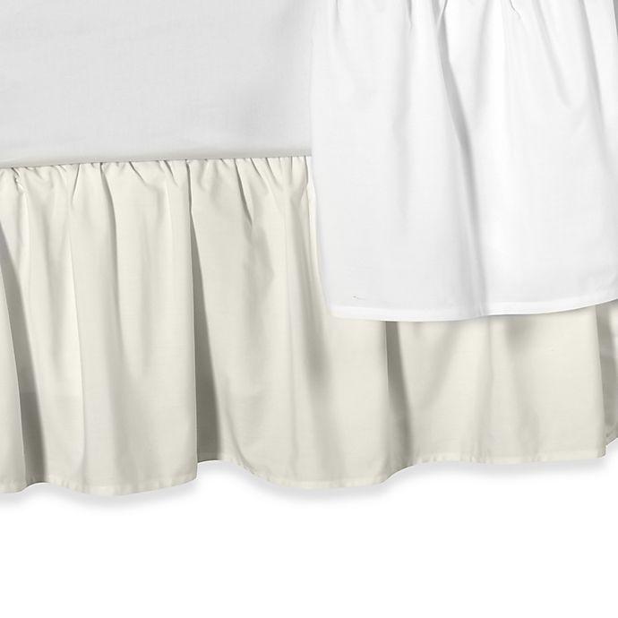 Alternate image 1 for Smoothweave™ Ruffled Daybed Bed Skirt