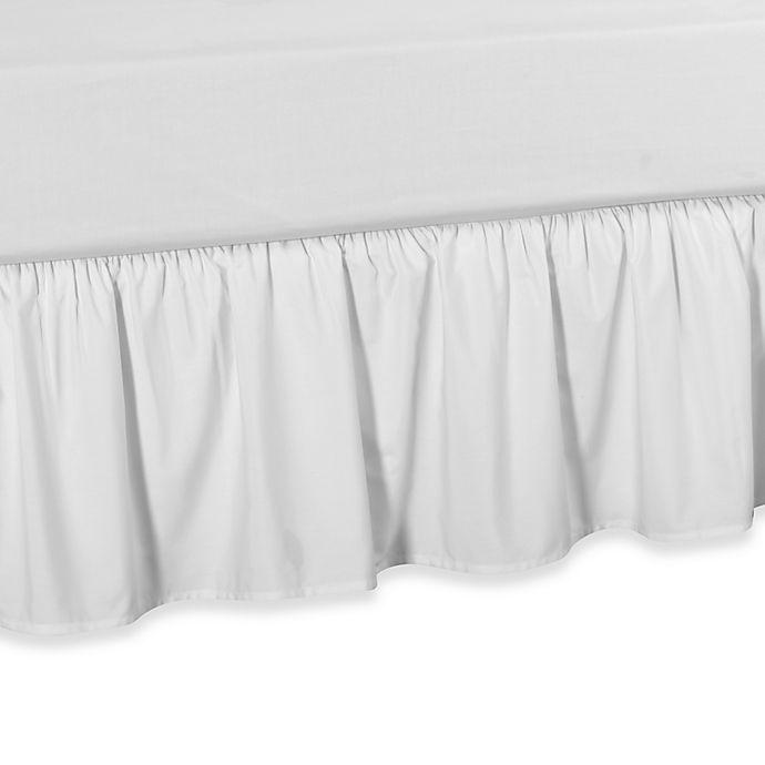 Alternate image 1 for Smoothweave™ Ruffled Daybed Bed Skirt in White
